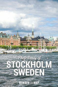 A Photo Essay: Stockholm, Sweden via @wanderthemap