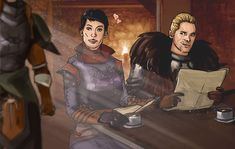 everkings: Favorite Brotp - Cassandra and Cullen - it´s all shiny