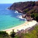 Carizalillo Beach at the magical Puerto Escondido, Mexico