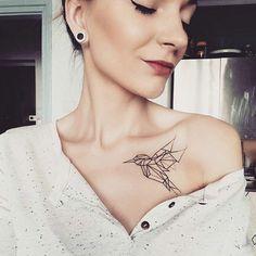 127 Best Collar Bone Tattoos Designs That You Could Get in 2019 bone tattoo neck tattoo tattoo tattoo tattoos ideas collar bone Cool Chest Tattoos, Chest Tattoos For Women, Bone Tattoos, Feather Tattoos, Leg Tattoos, Small Tattoos With Meaning, Small Tattoos For Guys, Small Wrist Tattoos, Geometric Tattoos