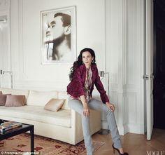 L'wren and Mick Jaggers Paris Apartment , Vogue 2012