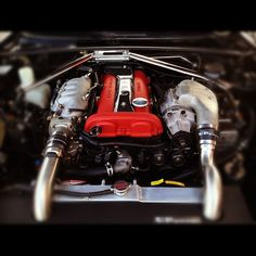 NB Mazda Miata with Jetstream Carbon Fiber Spark Plug Cover and Jackson Racing M45 Supercharger