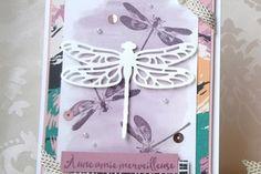 Semaine Naturaliste : Le Set Songe de Libellules & les Thinlits Libellules Ouvragées vont si bien avec la collection Palette d'artiste !