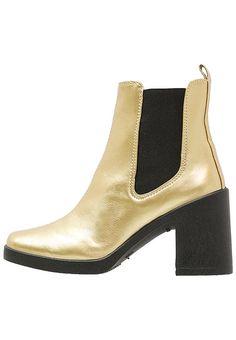 Topshop BARNABY - Stiefelette - gold für SFr. 55.00 (23.11.16) versandkostenfrei bei Zalando.ch bestellen.