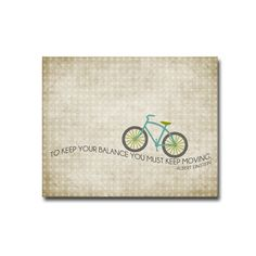 Bicycle Balance - 8x10 Digital Art Printable .JPG (digital file to print on your own). $10.00, via Etsy.