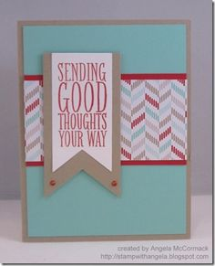 Guest Designer: Angela McCormack –Fun Cards with Fresh Prints, Banners, and more   Northwest Stamper