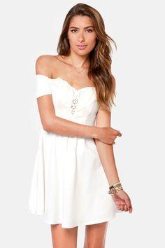 LWD Love: Moonlit Balcony Ivory Lace Dress <3