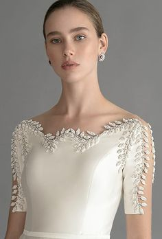 Chana Marelus 2020 Spring Bridal Collection – The FashionBrides Fashion Mode, Couture Fashion, Daily Fashion, Evening Dresses For Weddings, Evening Gowns, Vestidos Marisa, Bridal Gowns, Wedding Gowns, Kleidung Design