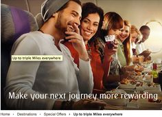 Rewards Canada: Emirates: Up to Triple Skywards Miles on EK flights out of Toronto in Economy Class