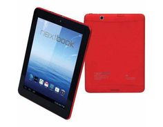 E FUN And VUDU Deliver Red Nextbook Android Tablets