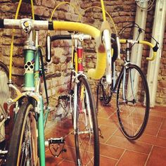 If I'm going to bike, it's going to be on a restored Italian racing bicycle (by @OfficineSfera