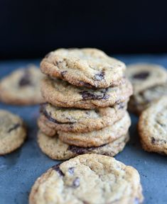 Spelt Chocolate Chunk Cookies | The Well Floured Kitchen
