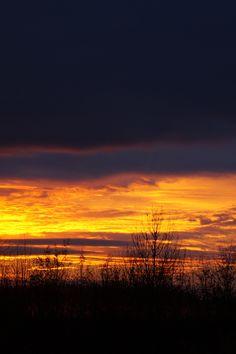 Abendhimmel im Herbst // Autumn Evening Sky