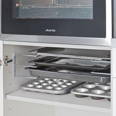 Baking sheet holder - Küchen - Ideen - Home Sweet Home Kitchen Interior, New Kitchen, Kitchen Dining, Kitchen Decor, Kitchen Cabinets, Kitchen Appliances, Kitchen Ideas, Home Organisation, Cuisines Design