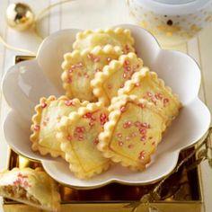 Quitten-Marzipan-Kekse