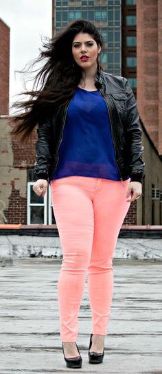 12 Hot Plus Size Street Style Fashion Ideas for This Season