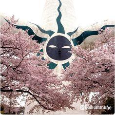 「お花見」太陽の塔