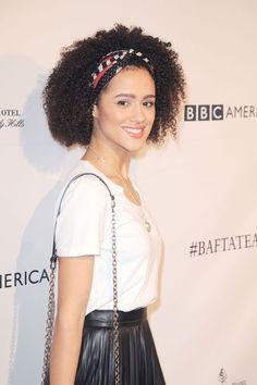 Nathalie Emmanuel attends the BAFTA LA Awards Season Tea http://celebs-life.com/nathalie-emmanuel-attends-bafta-la-awards-season-tea/  #nathalieemmanuel