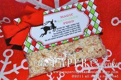 The Paper Cupcake. Our FREE printable Magic Reindeer Food Folded Bag ...