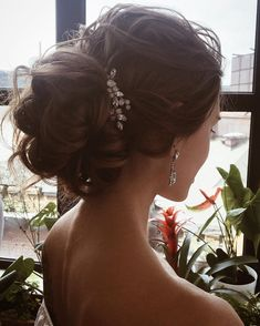 Wedding hairstyle , updo hairstyle inspiration ,hairstyles ,updo ,messy updo
