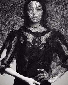 Vogue Japan December 2016 - Gigi Hadid  - Luigi & Iango
