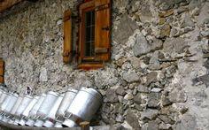 Die Stall auf der Gramaialm  http://www.karwendel-achensee.com/
