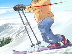 How to Do Better Telemark Ski Turns: 12 Steps (with Pictures)