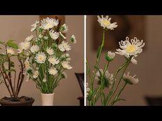French beaded flowers - wild daisy- Featured in Bead & Jewellery magazine... Bead Flora Studio - YouTube