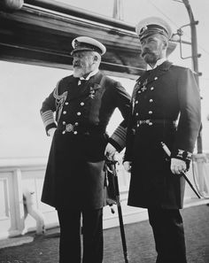 King Edward VII and Tsar Nicholas II