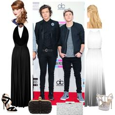 """Who's date do u want to be Harry's or Niall's"" by teentrendsetters on Polyvore"