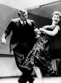 Cary Grant and Sophia Loren have a dance behind the scenes of The Pride and thePassion(1957)