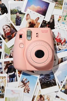 Snap real life instagrams on this fujifilm camera from Urban Outfitters.