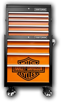 Craftsman Harley Davidson Tool Box. Must have!
