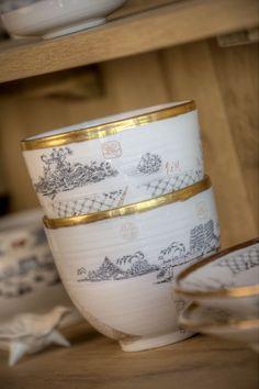 La Motte Porcelain rice bowls. #lamotte #farmshop #franschhoek Farm Shop, Rice Bowls, Porcelain, Tableware, Porcelain Ceramics, Dinnerware, Tablewares, Dishes, Place Settings