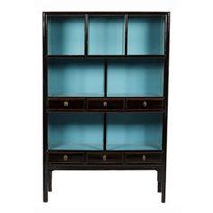Black  Aqua Display Unit