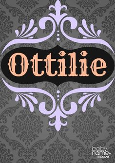 Ottilie: Meaning, origin, and popularity of the name. A charming feminine form of Otto popular in the 1800s, Ottilie deserves a little more time in the spotlight. With attractive nicknames like Tillie and perhaps Lottie, we think this friend of Natalie has lots of potential.