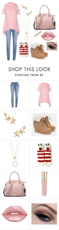 """Happy New Years"" by icecreamyou ❤ liked on Polyvore featuring Cheap Monday, Kenneth Jay Lane, JustFab, Kate Spade, Smith & Cult and Lime Crime"