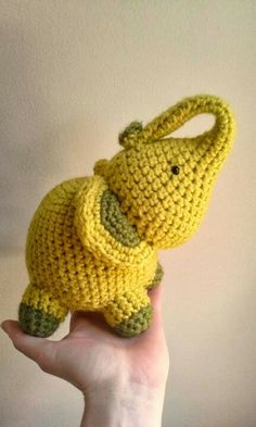Etsy crochet toys- would be so cute in aqua colors too