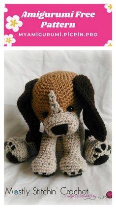 Dog Crochet Pattern Pinterest Top Pins Video Tutorial | Tier ... | 424x236