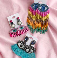 Beaded Earrings Patterns, Beaded Tassel Earrings, Tassel Jewelry, Beaded Brooch, Diy Earrings, Jewelry Patterns, Earrings Handmade, Beaded Jewelry, Handmade Jewelry