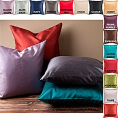 @Overstock - This decorative pillow is perfect for livening up any couch or bed. This stylish pillow is featured in a variety of vibrant colors to perfectly complement your home decor.http://www.overstock.com/Home-Garden/Decorative-Chic-18-inch-Square-Pillow/6624539/product.html?CID=214117 $23.79