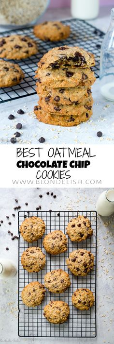 How to make Oatmeal Chocolate Chip Cookies in less than 30 minutes. That's right, you can make your favorite sweet snack or dessert in no time.