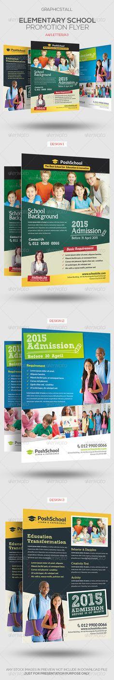 Elementary School Education Flyer - Corporate Flyers