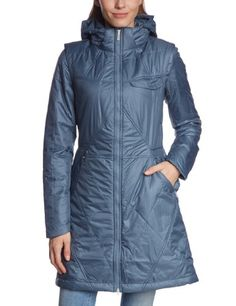 NIKE Nike Women S Field Hooded Parka Primaloft Long Lightweight Jacket  Grey.  nike  cloth   d750d3be8