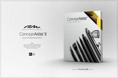 RM Concept Artist II (bundle). Brushes