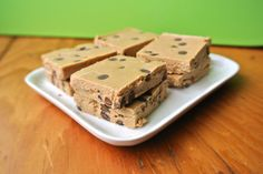Cookie Dough Fudge (S) - Can eliminate the special ingredients I don't have (per the recipe)!