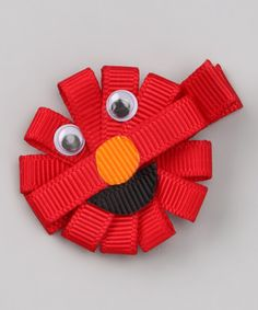 Take a look at this Red Sunshine Clip by Picki Nicki Hair Bowtique on #zulily today!