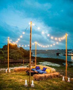 9 Summery Hamptons-Inspired Wedding Details | Photo by: Joshua Zuckerman Photography | TheKnot.com