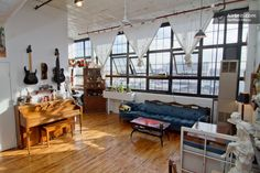 Sunny Loft 15 min. to Union Square in Brooklyn