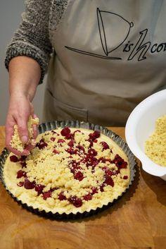 Kruimelcake met frambozen - Dishcover Camembert Cheese, Dairy, Fruit, Cakes, Cake Makers, Kuchen, Cake, Pastries, Cookies